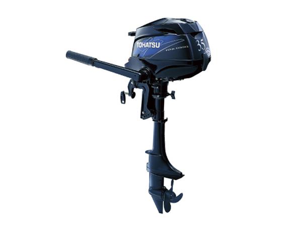 Tohatsu 4 Stroke Outboard Motor Mfs3 5b Tramsam L Jmarine